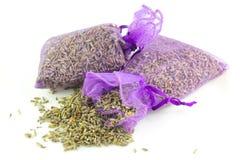 Zakken Geparfumeerde Lavendel royalty-vrije stock foto
