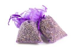 Zakken Geparfumeerde Lavendel stock afbeeldingen