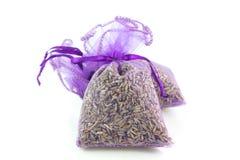 Zakken Geparfumeerde Lavendel royalty-vrije stock afbeeldingen