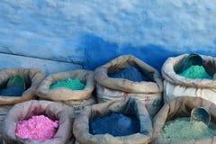 Zakkenhoogtepunt van gekleurd pigment Royalty-vrije Stock Fotografie