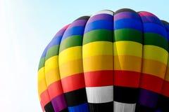 Zakończenia gorącego powietrza kolorowi balony Zdjęcia Royalty Free