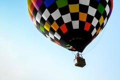Zakończenia gorącego powietrza kolorowi balony Zdjęcia Stock