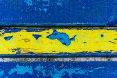 Zakończenie ławka, spojrzenie od above Stosowny dla tekstury, plecy Zdjęcie Royalty Free