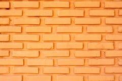 Zakończenie ściana z cegieł tło bryła, cement, brickwork Obrazy Stock