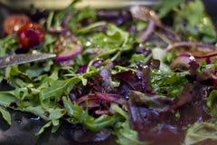 Zakończenie świeża smakowita sałatka zdjęcie stock