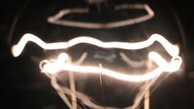 Zakończenie żółta spirala drucik lampa Gładki migotanie zbiory