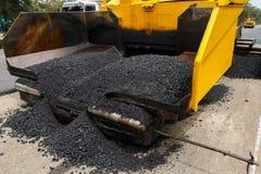 Zakończenie asfalt zdjęcie royalty free