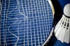 Zakończenie Badminton kanta nieobecność z wahadłowa koguta badminton obraz royalty free