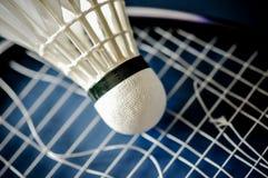 Zakończenie Badminton kanta nieobecność z wahadłowa koguta badminton zdjęcie royalty free