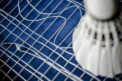 Zakończenie Badminton kanta nieobecność z wahadłowa koguta badminton obraz stock