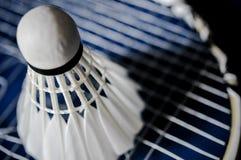 Zakończenie Badminton kanta nieobecność z wahadłowa koguta badminton zdjęcia stock