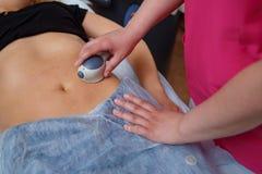 Zakończenie Daje masażowi Dojrzała kobieta osoba obrazy royalty free