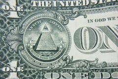 Zakończenie dolarowa część Pojęcie zakończenie Zdjęcie Royalty Free