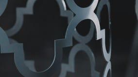 Zakończenie: farba na metalu używać puszkę farba Dekoracyjny metalworking zbiory wideo