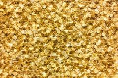 Zakończenie luksusowy złoty ścienny dekoracja wzór Zdjęcie Royalty Free