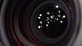 Zakończenie makro- kamera telewizyjna obiektyw zbiory