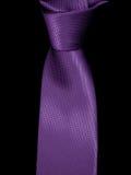 Zakończenie na tła czarnych krawatach Obrazy Royalty Free