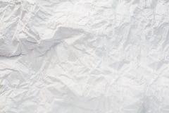 Zakończenie prostego papieru biała tekstura Obrazy Royalty Free