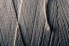 Zakończenie rany up bawełny sznurek zdjęcia stock