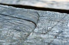 Zakończenie stara drewno deska Obraz Stock