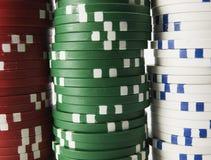 zakończenie sterta Uprawiać hazard układy scalonych Fotografia Royalty Free