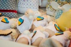 Zakończenie szczegóły boże narodzenia up wprowadzać na rynek w Kijów, Ukraina Obrazy Royalty Free