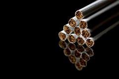 Zakończenie Tabaczny papierosu tło Zdjęcie Stock