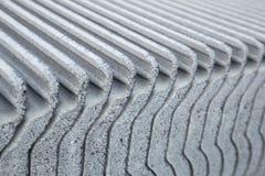 Zakończenie tekstura betonowa dachowa płytka Zdjęcia Stock