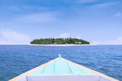 Żagiel marzyć wyspę Zdjęcia Stock