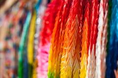 Zamyka up kolorowy origami Fotografia Royalty Free