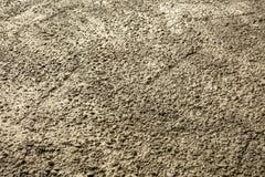 Zakończenie up tekstura świeży polany beton Zdjęcia Royalty Free