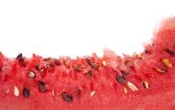 Zakończenie wodny melon Obraz Royalty Free