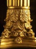 zakończenie Złoty filar Fotografia Stock