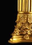 zakończenie Złoty filar Zdjęcie Royalty Free