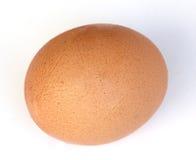 Zakończenia jajko na bielu Obrazy Stock