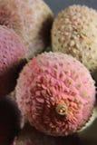 Zakończenia lychee Fotografia Stock