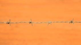 Zakończenie drut kolczasty Zdjęcie Royalty Free