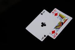 Zakończenie karty Zdjęcie Stock
