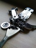 Zakończenie klucze Zdjęcie Stock