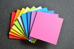 Zakończenie kolorowi kwadraty obraz stock