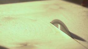 Zako?czenie Kurenda zobaczył piłowanie deskę Ciesielka warsztat zdjęcie wideo