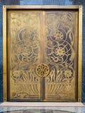 Zakończenie meczetowy drzwi, Dubaj Obraz Royalty Free