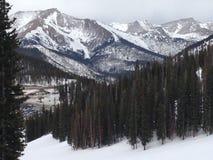 Zakończenie Mountain View Zdjęcie Stock