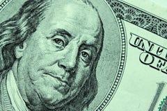 Zakończenie na Benjamin Franklin zdjęcie royalty free
