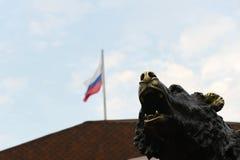Zakończenie pomnikowy ` symbol Rosja - legenda Yaroslavl ` Fotografia Stock