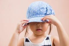 Zakończenie portret dziecko dziewczyna Zdjęcie Royalty Free