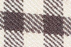 zakończenie tkaniny tkaniny wzór Obraz Royalty Free