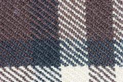 zakończenie tkaniny tkaniny wzór Zdjęcia Stock