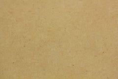 Brown Kopertowy papier Zdjęcie Stock