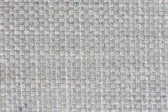Zakończenie up popielaty tkanina projekta wzór Obraz Stock